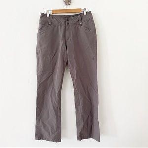 Isis Gray Hiking Pant Size 8